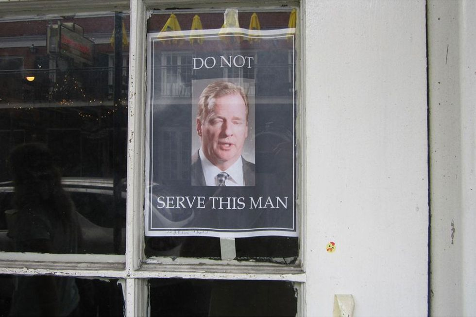 """Roger Goodell , """"persona non grata"""" en Nueva Orleans"""