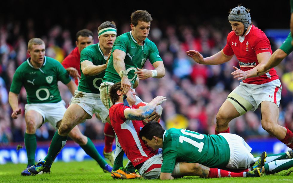 Gales recupera la dignidad e Irlanda se lleva la gloria