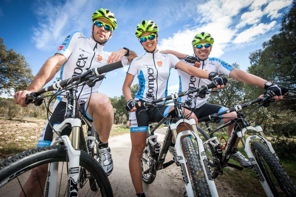Giacchetta, Menéndez y Pujol competirán en la Titan Desert