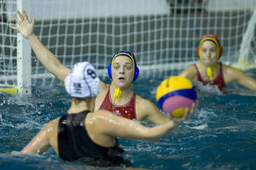 España pierde contra Hungría en la Liga Mundial de waterpolo