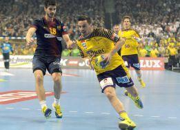 El Füchse corta la imbatibilidad del Barcelona Intersport
