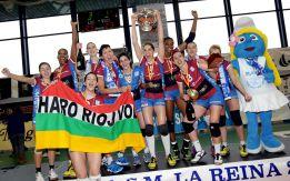 El Haro Rioja Voley levanta su segunda Copa de la Reina