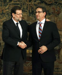 """Rajoy, a los campeones: """"No hay que caer nunca en el pesimismo"""""""