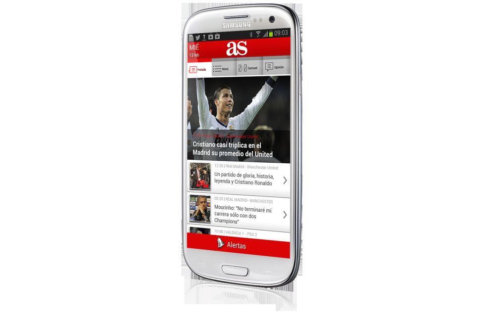 Ya está disponible la nueva aplicación de AS para Android