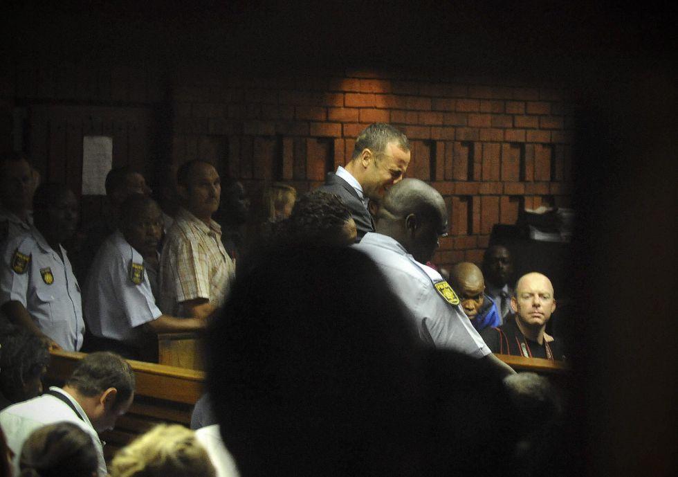 Oscar Pistorius se enfrenta a una pena de cadena perpetua