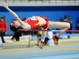 Ruth Beitia gana en Sabadell su duodécimo título en altura