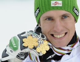 El austriaco Marcel Hirscher, oro en el eslalon