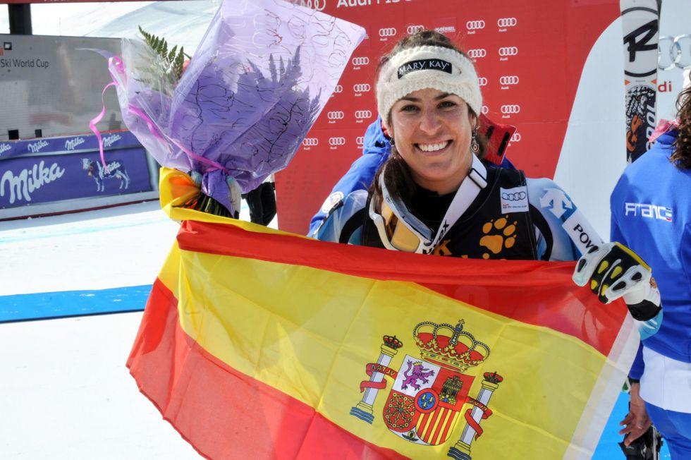 """Carolina Ruiz: """"Hice un descenso redondo, es un día mágico"""""""