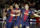 El Barça alcanza la final con exhibición frente al Santiago