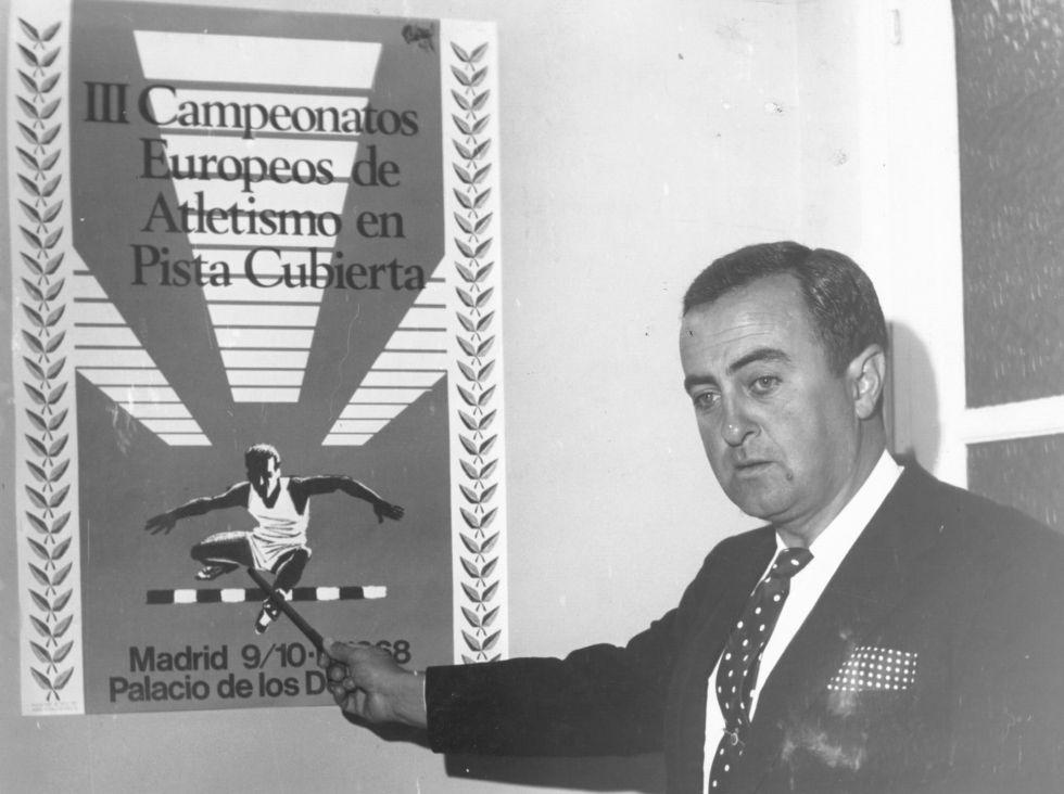 Muere Rafael Cavero, presidente de la FEA entre 1963 y 1975