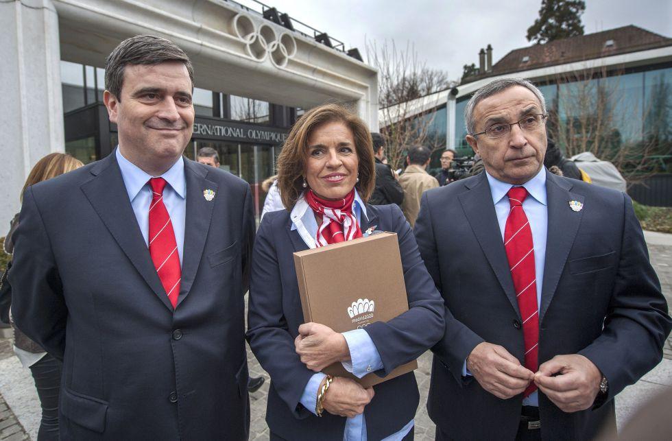 Madrid ensaya para la visita del COI con 13 grandes expertos