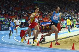 Casado y Bustos se quedaron sin medalla en la final de 1.500