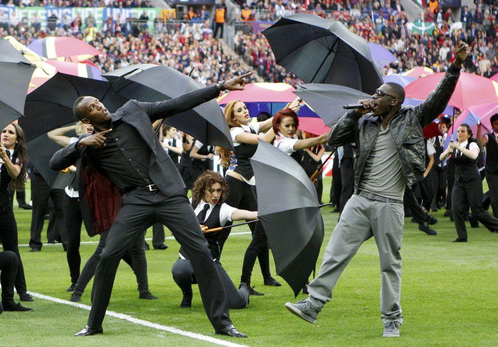 Bolt y otros once campeones olímpicos, en Londres
