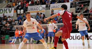 El Caja Segovia se lleva el primer partido en Zaragoza