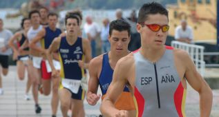 Gmez Noya se prueba en el &#039;medio ironman&#039; de Calella