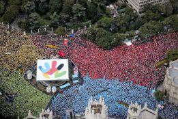 En la Puerta de Alcalá podría seguirse la decisión del COI