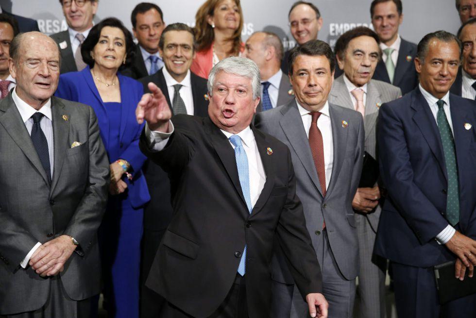 Los empresarios europeos muestran su apoyo a Madrid