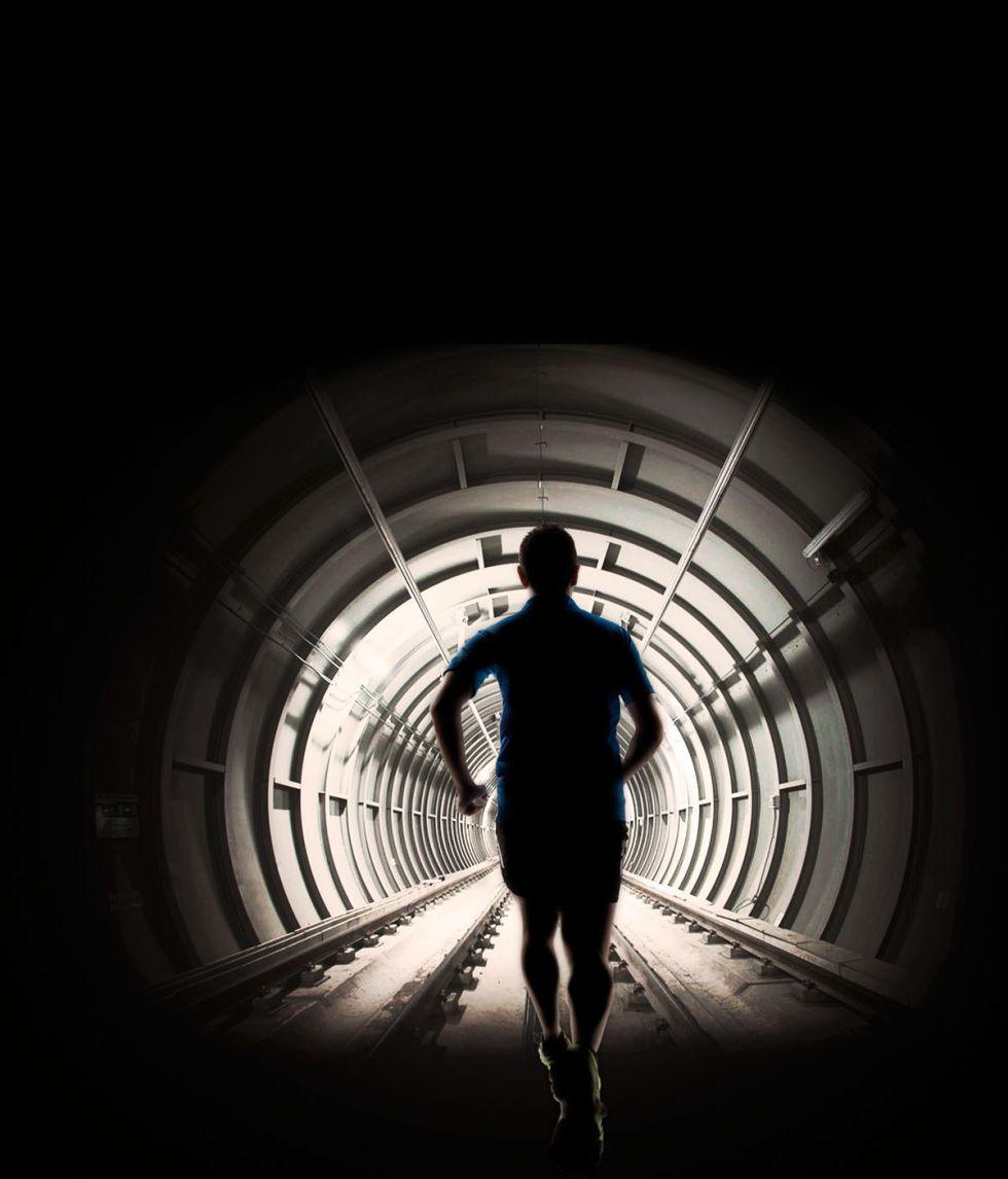 Más de 7.000 inscripciones para la carrera por el túnel