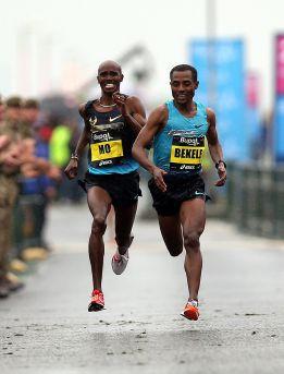 Bekele sorprende a Mo Farah en el medio maratón de Newcastle