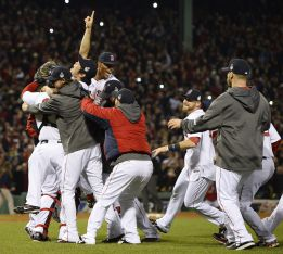 Los Boston Red Sox ganan las Series Mundiales