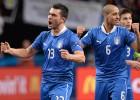 Italia ganó la Eurocopa a Rusia en 'la final de los brasileños'