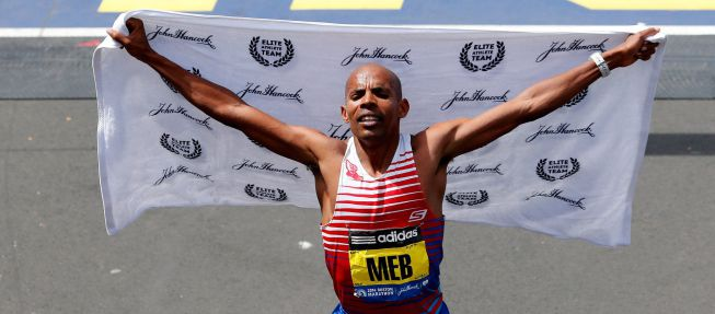 Boston: no hubo incidentes y ganaron Keflezighi y Jeptoo