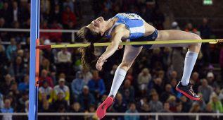 Ruth Beitia fue tercera en altura, en la que venció la rusa Kuchina