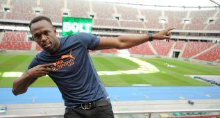 Usain Bolt debuta en los 100 metros de Varsovia