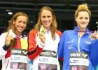 Jessica Vall remonta hasta el bronce en los 200 braza