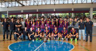 El Barcelona se impone ante un luchador Granollers (37-22)