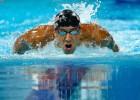 Phelps vuelve: victoria y gran marca en 100 mariposa