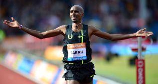 Farah arrebata a Ovett el récord europeo de las dos millas