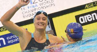 Mireia Belmonte debuta con un oro en la Copa del Mundo
