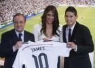 Daniela Ospina, esposa de James, retorna al voleibol