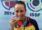 Fátima Gálvez, medalla de plata en el Mundial de Tiro