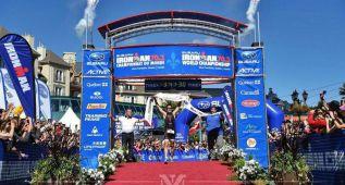 Javier Gómez Noya repite triunfo en el triatlón de Pekín