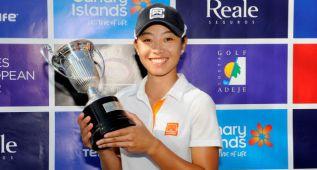 Carlota Ciganda finaliza segunda el Tenerife Open de España