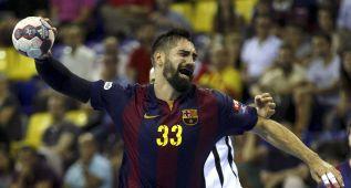 El Barça, con un gran Sigurdsson, no da opción a los turcos