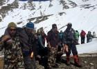 Aumentan a 29 los muertos en Nepal por tormentas de nieve