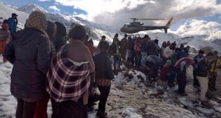Ya hay 38 fallecidos por las tormentas de nieve en Nepal