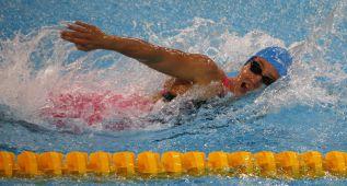 Mireia Belmonte consigue dos platas y un bronce en Pekín