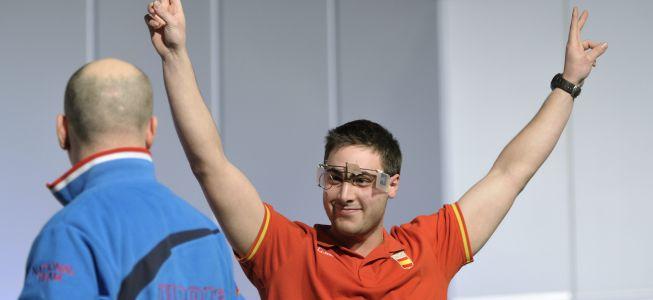 Pablo Carrera, plata en la final de la Copa del Mundo de Gabala