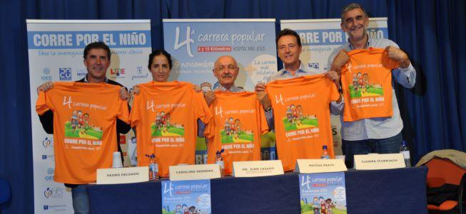 'Corre por el niño' alcanza su cuarta edición solidaria
