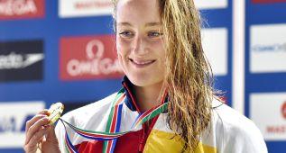Mireia Belmonte se cuelga el oro en los 800 metros libres