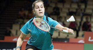 Carolina Marín regresó tras su lesión en el Open de Alemania