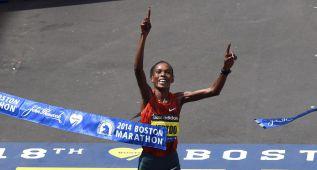 La keniata Rita Jeptoo, positivo en un control antidopaje