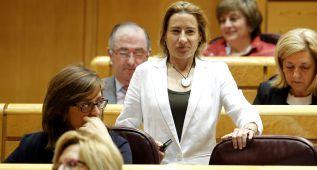 Marta Domínguez alaba la Ley Antidopaje ante Gómez Bastida
