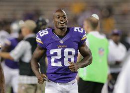 Peterson, de los Minnesota Vikings.