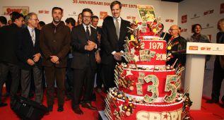 El diario Sport celebró ayer su gran fiesta de 35º aniversario