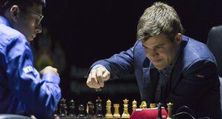 Carlsen derrota a Anand en segunda partida del Mundial